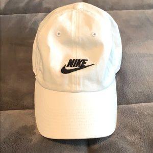 Nike ball cap.